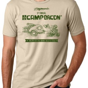 Cream Camp Bacon t-shirt