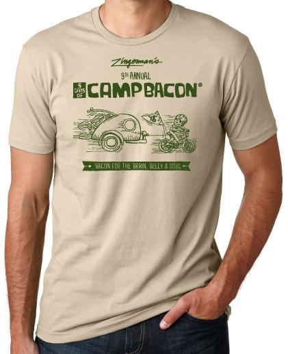 Cream Camp Bacon t-shirt